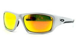 Oakley Valve Sport Sunglasses OO9236-07 Polarized Mirrored Irridium Lenses - $81.25