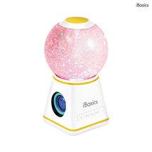 iBasics Bluetooth Tornado Speaker with MicroSD Card Slot - White - $34.99