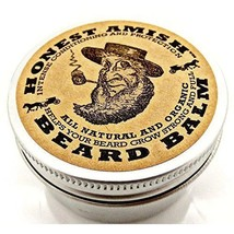 Honest Amish Natural & Organic Beard Balm Leave In Conditioner Vegan Friendly image 2