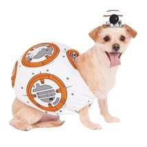 Star Wars BB8 Pet Costume Stuffed Body & Headpiece Sz S,L, XL NEW - €23,81 EUR