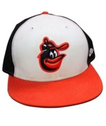 1975-88 BALTIMORE ORIOLES  New Era Fitted Hat / Cap 7 3/8 Wool w/ CARTOO... - $35.99