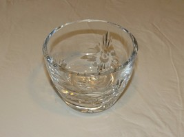 Marquis Waterford Crystal bowl candy dish 3 3/4 high heavy beautiful Pol... - $32.05