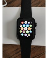 Apple Watch Series 2 38mm Space Gray Aluminum Case with Black Sport Band - $295.95