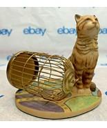 """Lowell Davis """"Flew the Coop"""" Figurine 1837/4000 Birdcage Schmid 225207 C... - $180.66"""