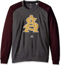 Arizona State Sun Devils Men's Adidas Climawarm Crew Sweatshirt, Medium,... - $23.33