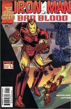 Iron Man Bad Blood Part 4 of 4 [Paperback] [Jan 01, 2000] Marvel; Michelinie, La - $3.91