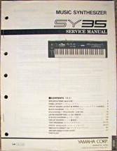 Yamaha SY-35 Vector Music Synthesizer Keyboard Original Service Manual B... - $24.74