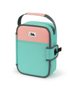 Arctic Zone Zipperless Lunch Teal and Blush Blush and Teal NEW FS! - $13.92