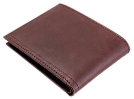 Nautica Men's Genuine Vintage Leather Credit Card ID Billfold Passcase Wallet image 13