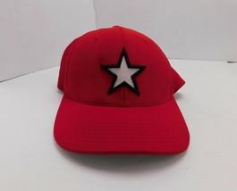 "Pacific Headwear Hat Cap 6 7/8-7 3/8"" Sm-Med Flexfit Red Performance Sports - $7.12"