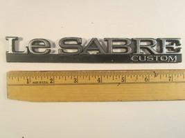 Original Vintage Plastic Car Emblem Buick Le Sabre Custom [Y64A] - $8.64