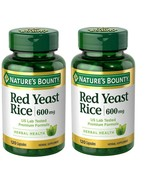 Nature's Bounty Red Yeast Rice 600 MG. 120 Capsules. (pack of 2) - $21.99