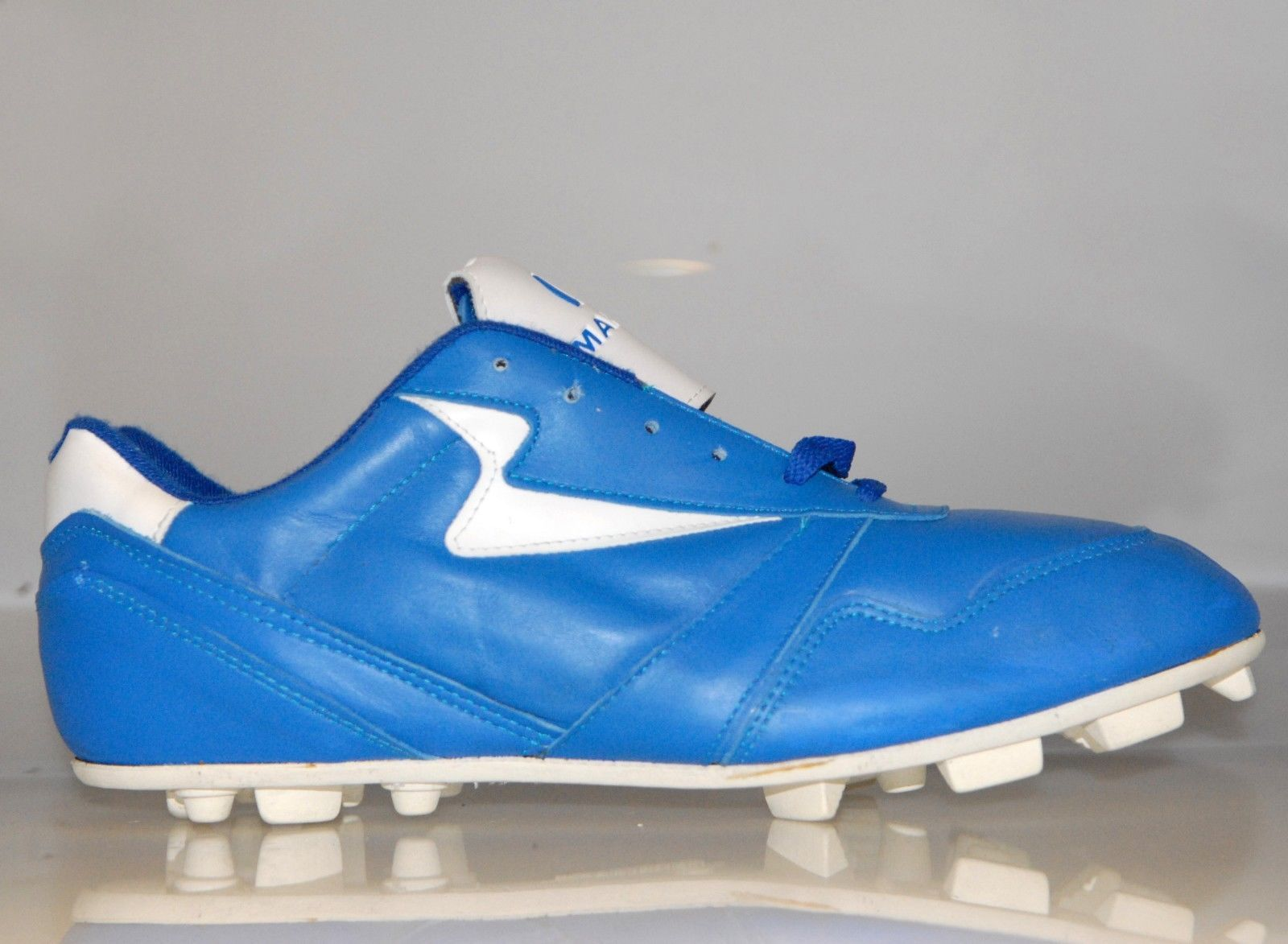 pick up 3e9a0 17f0e Men s Manriquez Baseball Cleats Leather Blue and 50 similar items. 57