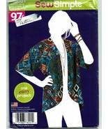 Simplicity Sewing Pattern 8001 Misses Kimono Size XS-XL - $4.49