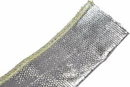 "Heat Sheath Aluminized Sleeving Heat Shield Protection Barrier 1"" x 36"" (3ft) image 7"