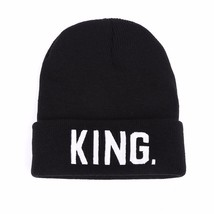 VORON KING Q Beanies Cap Brand Embroidery Warm Winter Hat Knitted Cap Hi... - $10.02