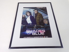 Shades of Blue 2017 NBC Framed 11x14 ORIGINAL Advertisement Jennifer Lopez - $32.36