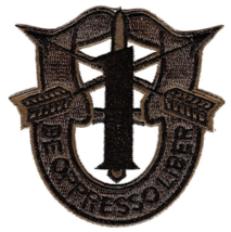"""3"""" ARMY 1ST SPECIAL FORCES GROUP CREST EMBROIDERED PATCH - $17.14"""