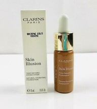 clarins skin illusion natural hydrating foundation 0.5 oz Tester Choose - $10.19