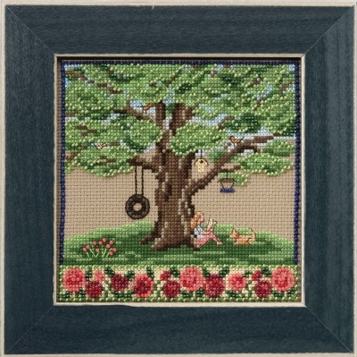 Summer Oak 2017 Quartet Mighty Oak tree series cross stitch kit  Mill Hill