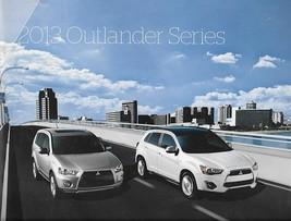 2013 Mitsubishi OUTLANDER sales brochure catalog SPORT 13 US ES SE GT - $10.00