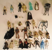 Star Wars Action Figure Lot of 29  Kenner Hasbro Darth Vader C3PO  More - $121.54
