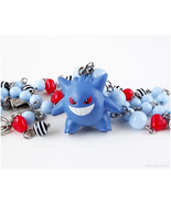 Gengar figurine necklace, Pokemon Jewelry, Gifts for Gamers, Gamer Girl,... - $35.00