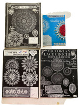 Elizabeth Hiddleson Crochet Pattern Book  41+42 1979 +Victorian Lace+Lil... - $25.99