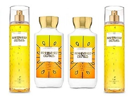 4 Piece Bath & Body Works Sun-Washed Citrus Set- Body Lotion & Fragrance... - $34.99
