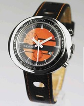 SEARS AUTOMATIC 21 JEWEL GRANDE MEN VINTAGE WATCH DATE TACHY METER - $922.99 CAD