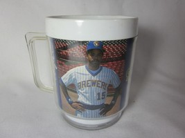 Old Vintage Milwaukee Brewers Cup Mug CECIL COOPER Maxwell House Adverti... - $6.92