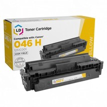 Compatible Canon 046H High Yield Yellow Toner 1251C001, (5,000 Page Yield) - $50.96