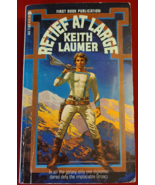 RETIEF AT LARGE BY KEITH LAUMER- BOOK- USED- FREEBIE - Freebie