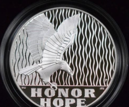 2011-P September 11 National Medal Commemorative PROOF 1 Ounce Silver  - $27.00