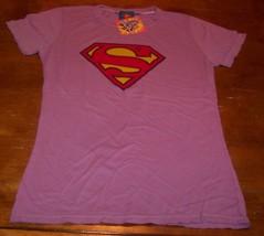Women's Teen Dc Comics Super Girl T-shirt Xl New w/ Tag Wonder Woman Superman - $19.80
