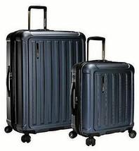 Traveler's Choice The Art of Travel 2 Piece Hardside Luggage Set Blue (open box) - $108.89