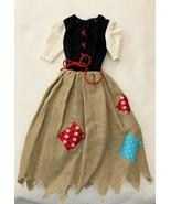 Vintage Barbie Little Theater Costume #872 Cinderella Poor Dress  297-12 - $22.50