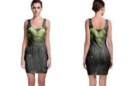 hulk full black and green poster Bodycon Dress - $21.99+