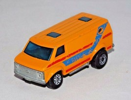 Matchbox SuperFast 1 Loose Vehicle No. 68 Chevy Van Orange Lesney England - $5.00