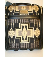 "Pendleton 16"" 2 wheel Rolling Under seat Tote Carry On Luggage Black Tan... - $224.95"