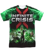 Authentic DC Comics Infinite crisis Green Lantern Sublimation Front T-shirt top - $26.99 - $31.99