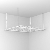 Ceiling Mounted 45 Inch Overhead Home Garage Storage Organization System... - $91.98