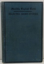 Selected Short Stories Edited with an Introduction and Notes Claude M. F... - $4.99