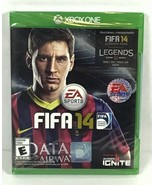 XBOX ONE FIFA 14 ⚽️  Foootball Video Game Complete New EA Sports Running... - $12.64