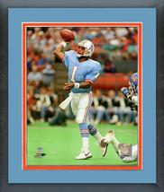 Warren Moon 1991 Houston Oilers Action -11x14 Matted/Framed Photo - $42.95