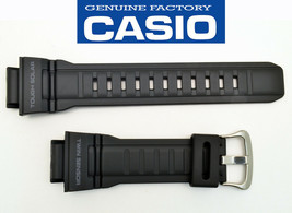Genuine CASIO Watch Band Strap G-9300 G-9300 G9300-1 MUDMANl BLACK Rubbe... - $32.94