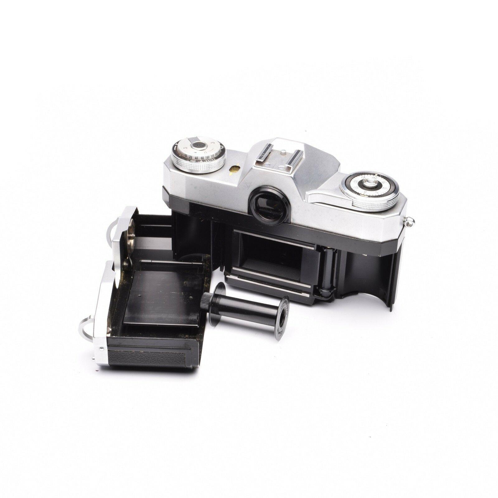 Zeiss Ikon Contaflex Super SLR 35mm Camera with TESSAR 50mm f/2.8 Lens