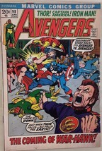 AVENGERS #98 (1972) Marvel Comics Barry Smith, Goliath becomes Hawkeye V... - $19.79
