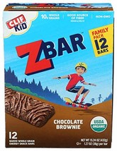 Clif, Bar Z Chocolate Brownie Organic 12 Count, 15.24 Ounce - $21.75