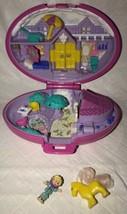 Polly Pocket Palomino Pony Bluebird 1995 Vintage Case Compact Doll Horse - $37.61